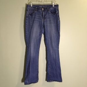 Old Navy Curvy Mid-rise Bootcut 10